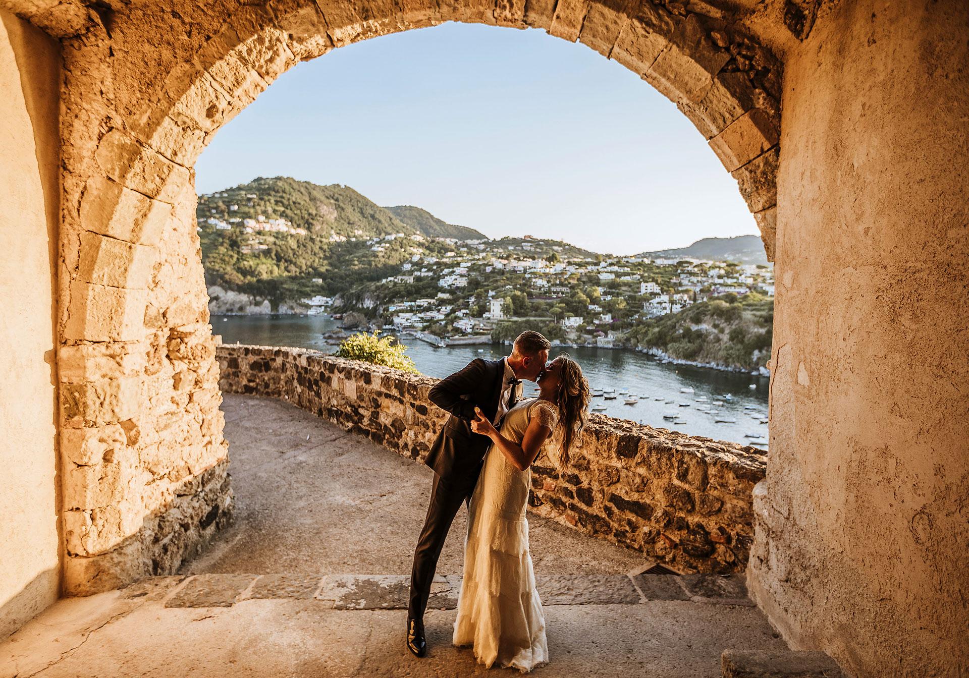Wedding In Ischia, Castle of Aragona