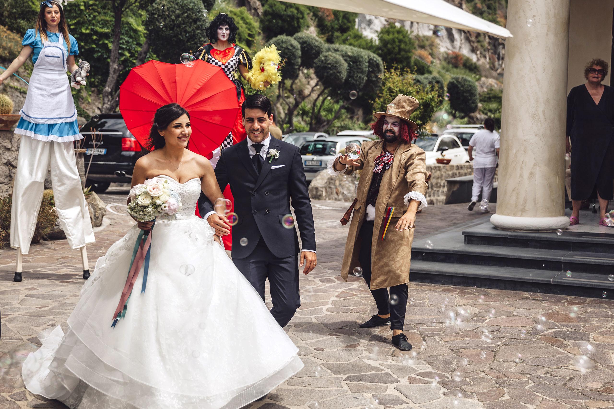 Emiliano e Stephanie sposi