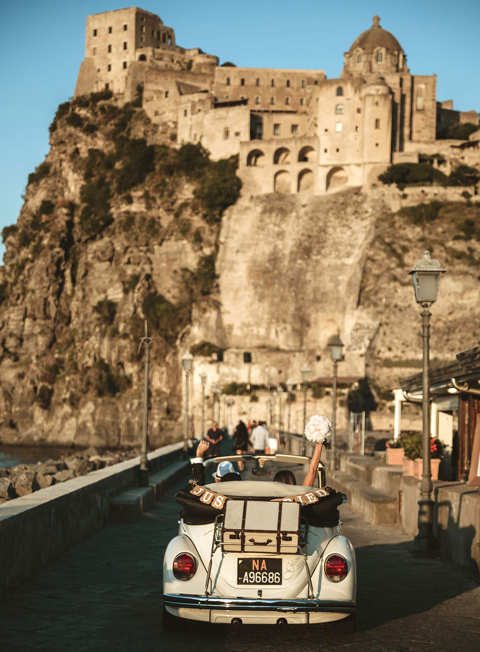 Married in Ischia, Castle of Aragona