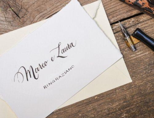 """I consigli del designer """"L'eleganza della scrittura calligrafica"""""""